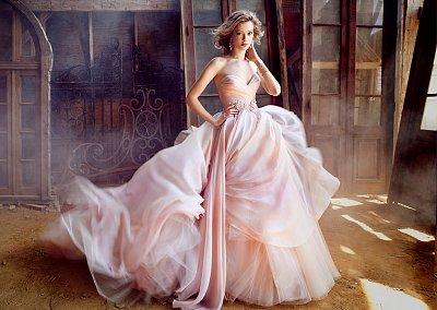 Свадебные платья Lazaro осень-зима 2015-2016