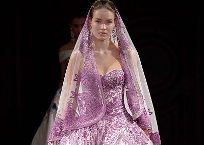 Свадебные платья Naeem Khan весна 2017