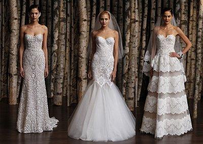 Свадебные платья Naeem Khan весна-лето 2015