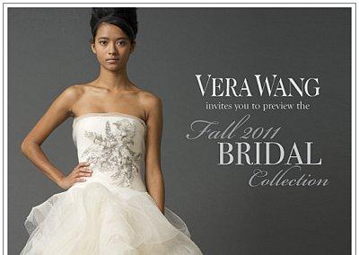 Свадебная мода Vera Wang осень-зима 2011-2012
