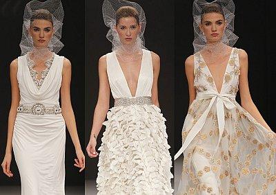 Свадебные платья весна 2012 от Badgley Mischka