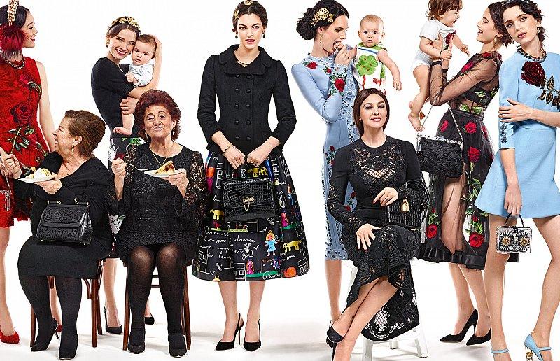 Рекламная кампания Dolce&Gabbana осень-зима 2015-2016