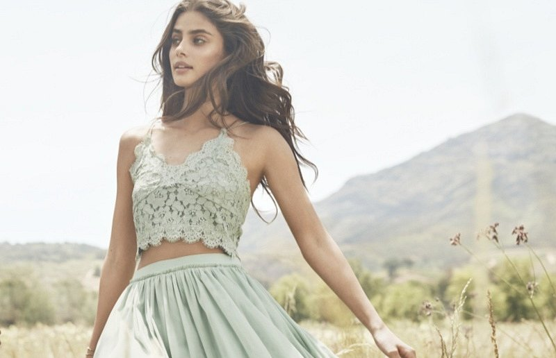 Рекламная кампания H&M весна-лето 2017