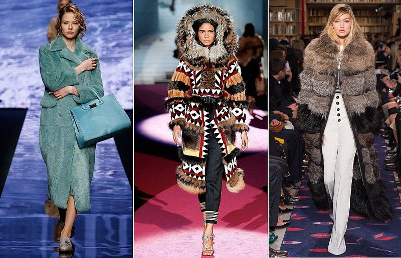 Модные шубы зима 2015-2016