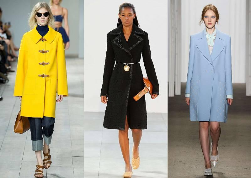 Мода пальто весна 2013