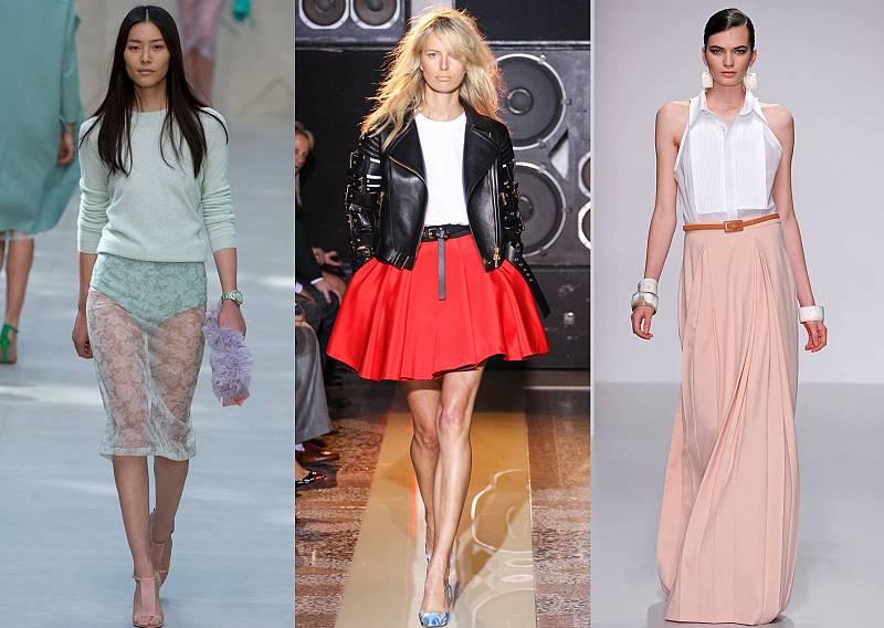 Мода юбки