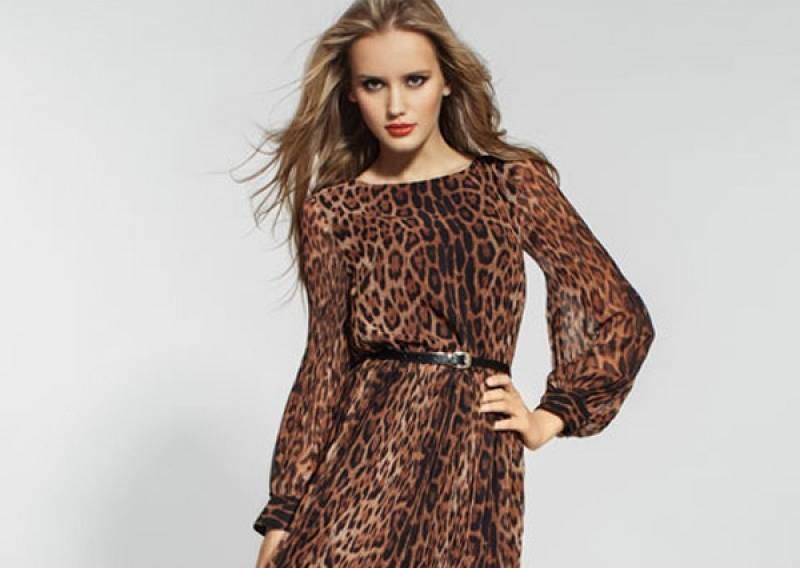 Платье лав репаблик леопардовое