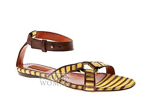 Обувь Missoni весна-лето 2012 фото №17