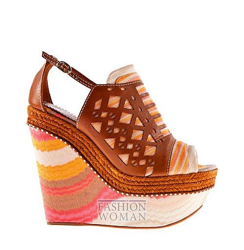 Обувь Missoni весна-лето 2012 фото №27
