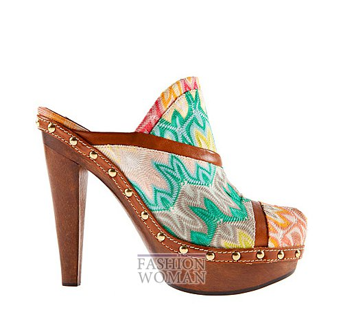 Обувь Missoni весна-лето 2012 фото №40
