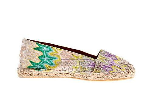 Обувь Missoni весна-лето 2012 фото №41
