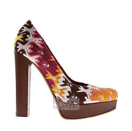 Обувь Missoni весна-лето 2012 фото №8
