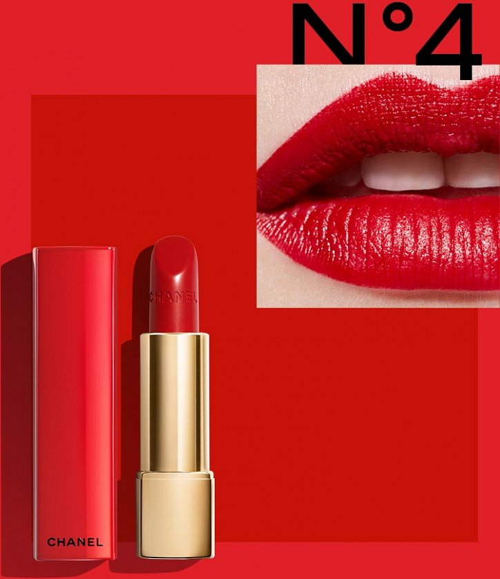 Рождественская коллекция макияжа Chanel Libre Numeros Rouge 2017 фото №12