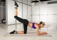 Тренировка мышц ягодиц