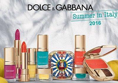 Летняя коллекция макияжа Dolce & Gabbana Summer in Italy