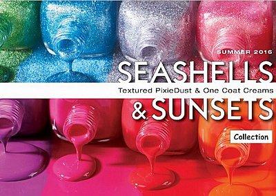 Летняя коллекция лаков для ногтей Zoya Seashells & Sunsets