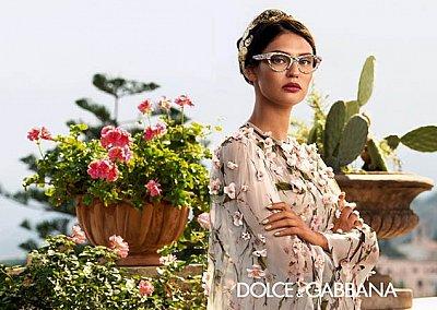 Очки Dolce & Gabbana весна-лето 2014