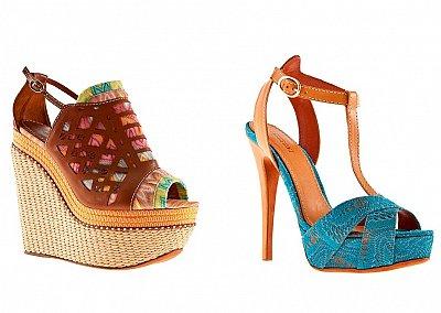 Обувь Missoni весна-лето 2012