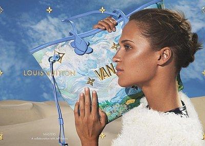 Аксессуары Louis Vuitton с принтами шедевров живописи